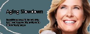 Aging Slowdown Banner Logo
