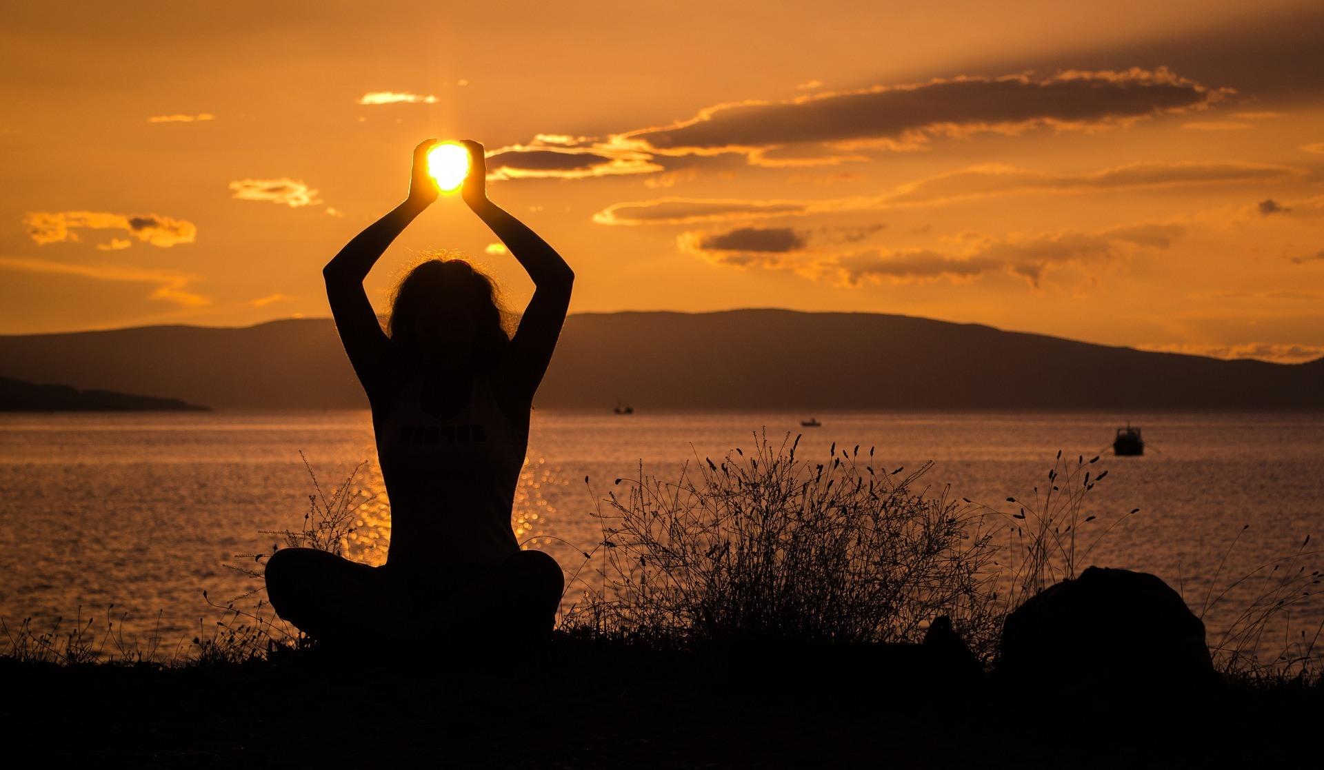 Energy Healing Sunset