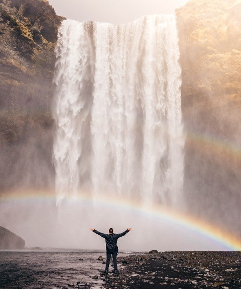 Energy Healing Waterfall